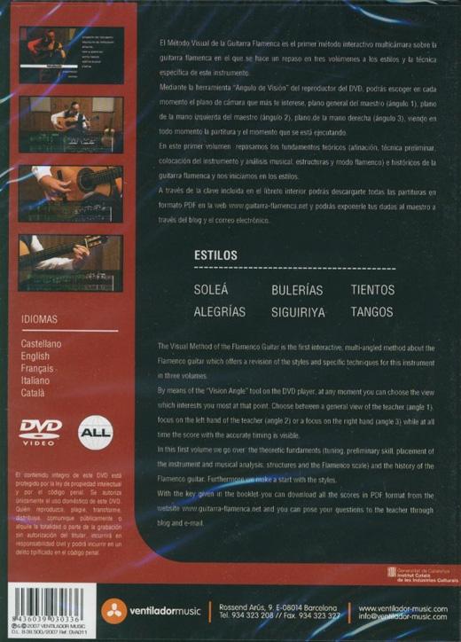 Guitarra firma lame DVD