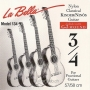 La Bella 3/4 Guitar d-4 Single String