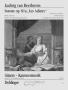 """Sonate """"Les Adieux"""" (bearbeitet für Flöte und Gitarre)"""