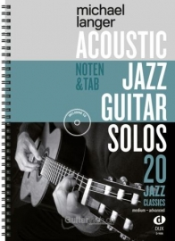 Acoustic Jazz Guitar Solos (mit CD)