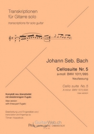 Cello Suite Nr.5 BWV 1011/995 a-moll (Neufassung)