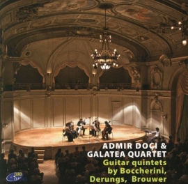 Guitar Quintets by Boccerini, Derungs, Brouwer