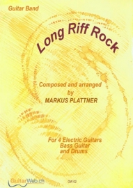 Long Riff Rock (for 4 guitars)