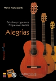 Progressive studies for Flamenco Guitar. Alegrías (Book/DVD)