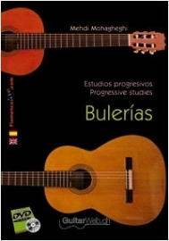 Progressive studies for Flamenco Guitar. Bulerías (Book/DVD)