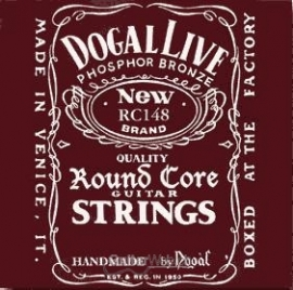 Round Core Acoustic Guitar Strings extra light custom