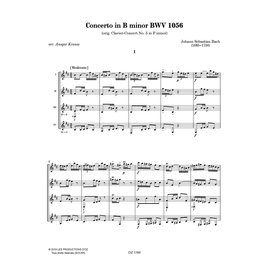 Concerto in B minor BWV 1056